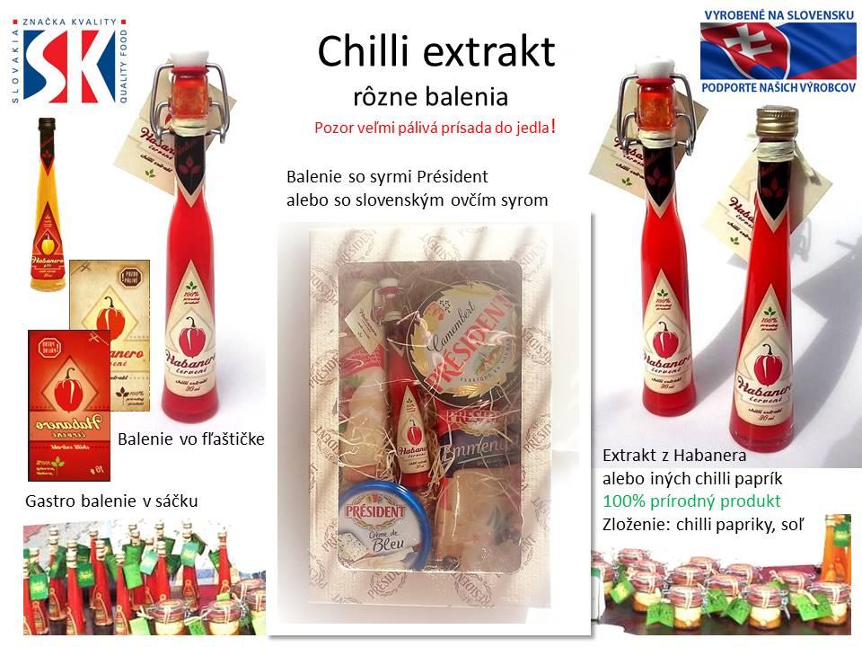 Chilli extrakt sk